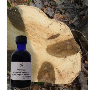 Composition aromatique au Bois d'Agar de mangrove